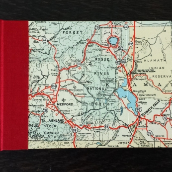 Blank Map Journal (2015)