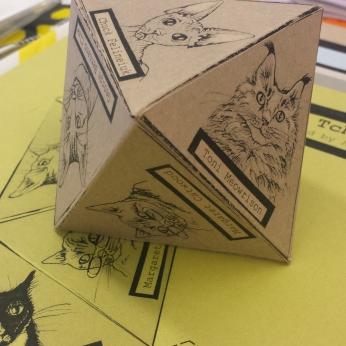 Literary Cat Tchotchke (2015)
